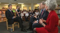 VIDEO: Three Cabinet secretaries talk to Dr. Richard Besser about childhood obesity.