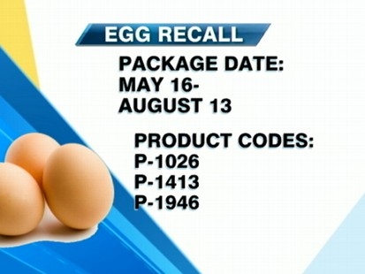 VIDEO: Egg recall