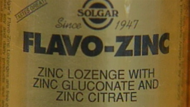 VIDEO: Dr. Richard Besser looks at medical studies claiming zinc can eliminate colds.