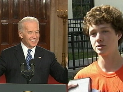 VIDEO: High School Kid Fights Bidens Potty Mouth