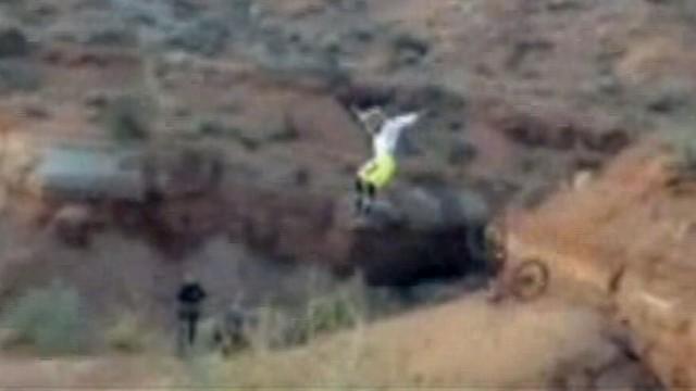 VIDEO: Mountain Bike Crash Captured on Helmet Cam