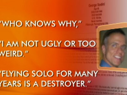 VIDEO: George Sodinis online diary reveals the motivations behind his health club shooting rampage.