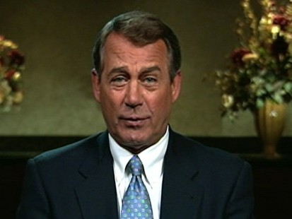 VIDEO: Rep. John Boehner responds to negative criticism about his tan.