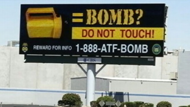 VIDEO: Authorities post warnings on multiple billboards across Western U.S.