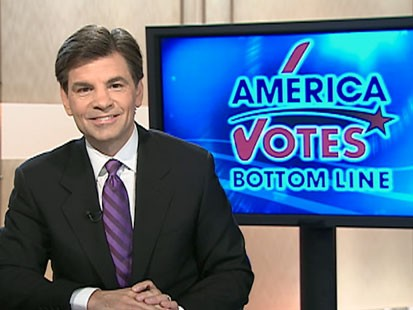 A picture of George Stephanopoulos on GMA.