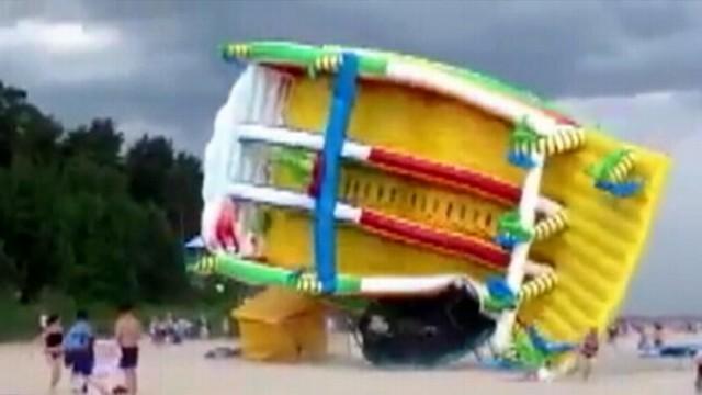 VIDEO: Bouncy Houses Bring 200 Child Injuries Each Week: Study