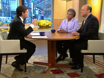 VIDEO: Donna Brazile and Ari Fleisher discuss the presidents speech on the spill.