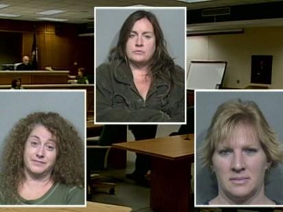 VIDEO: Three women kidnapped their boyfriend.