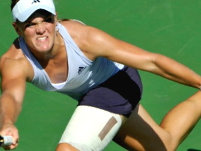 VIDEO: 17-year-old Melanie Oudin knocks Maria Sharapova out of the U.S. Open.