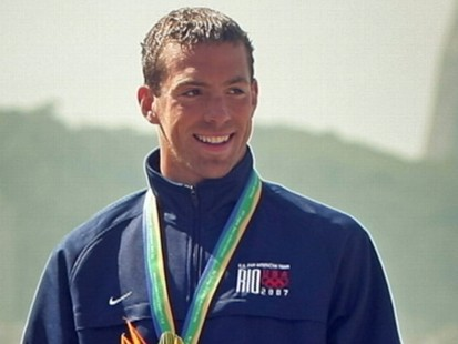 VIDEO: Fran Crippen, 26, died during the last leg of a 10-kilometer open-water race.