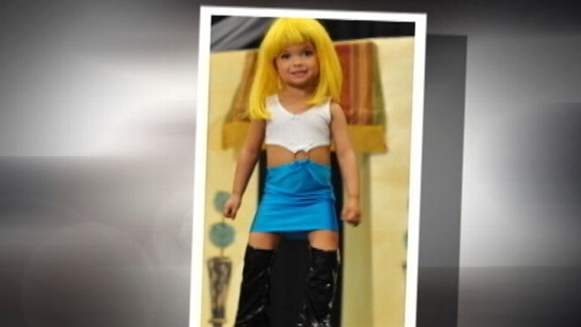 VIDEO: 3-year-old girl dresses as a prostitute to compete in beauty pageant.