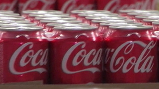 VIDEO: Company offers low calorie portions of their drinks, but says sugary drinks are not the only problem.