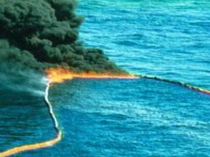 VIDEO: Gulf on Fire