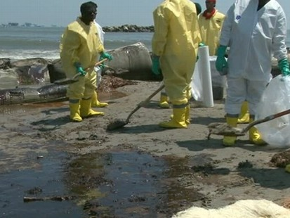 VIDEO: Oil Spill