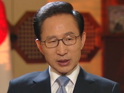VIDEO: Interview with South Korean president