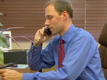 VIDEO: Michigan principal John Hoving uses the site to monitor students.