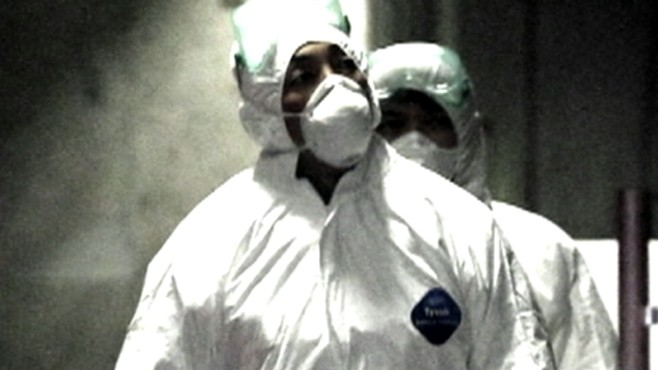 VIDEO: Japanese plant workers scramble to prevent nuclear meltdown.