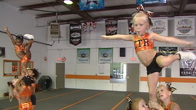 VIDEO: A sneak peek at the new show about the cutthroat world of competitive cheerleading.