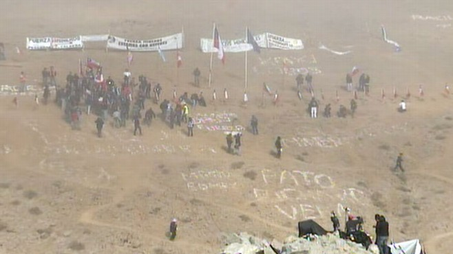 VIDEO: Chilean miners trapped for months are now one step closer to freedom.