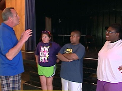 VIDEO: Overweight teenagers challenge themselves to get and stay fit at special camp.