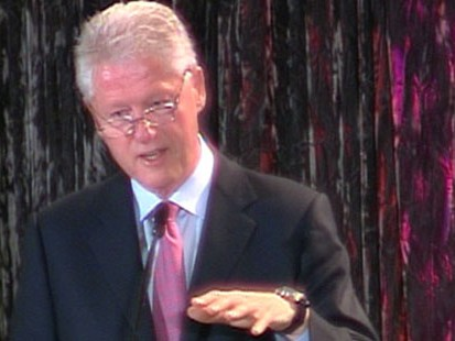 VIDEO: Bill Clinton speaks out on the obesity crisis in America.