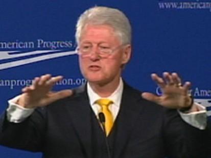 VIDEO: Bill Clinton Battles Conservatives