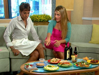"VIDEO: Daphne Oz explains how to avoid the ""freshman 15"" and stay healthy in college."
