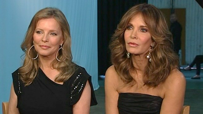 "VIDEO: ""Charlie's Angels"" Cheryl Ladd and Jaclyn Smith reflect on their TV experience."