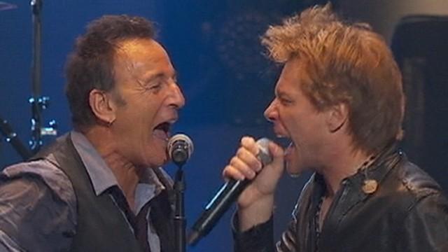 VIDEO: 12-12-12 Concert: Mick Jagger, Bruce Springsteen Deliver