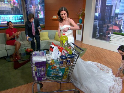 VIDEO: Bianna Golodryga highlights surprising ways to save on wedding gowns.