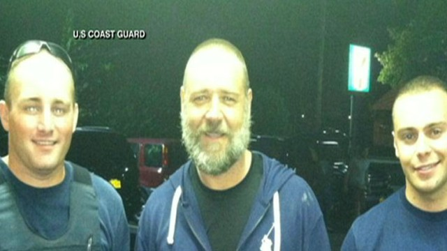 VIDEO: The Oscar-winner lost while kayaking off Long Island Sound
