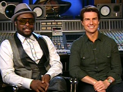 VIDEO: Cruise is joined by Will.I.Am to discuss their new film.