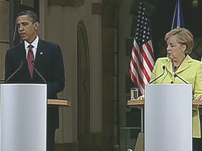 VIDEO: Obama Brings His Charm To Europe