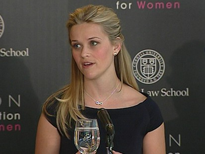 VIDEO: Reese Witherspoon Stands Against Domestic Violence