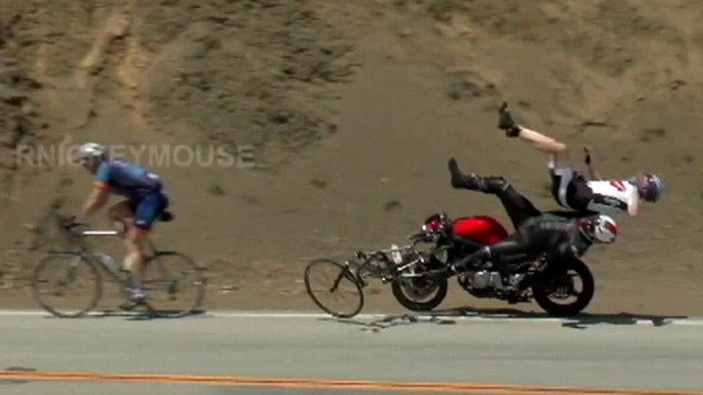 VIDEO: Edwards Corner on California highway is so dangerous photographers camp out to capture wrecks.