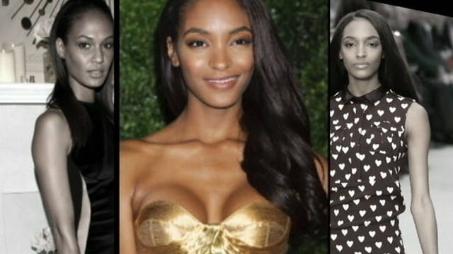 VIDEO: Jourdan Dunn says her 32A bra size is the reason she was not allowed to walk runway.