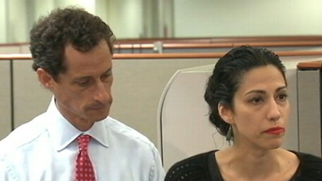 VIDEO: Huma Abedin stands by and speaks up for her man amid the controversy.