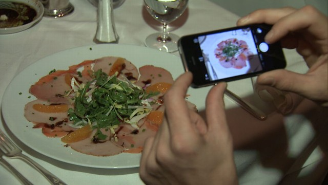 VIDEO: New study claims that looking at photos of food might make you less hungry.