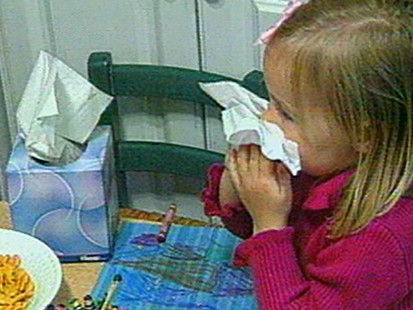 VIDEO: A 12-year-old has a condition that causes her to sneeze continuously.