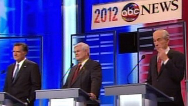 VIDEO: Gingrich takes fire from all sides at most explosive debate this season.