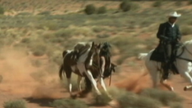 VIDEO: Johnny Depp Nearly Trampled By Horse