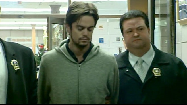 VIDEO: Nicholas Brooks was arrested after Sylvie Cachay was found dead at Soho House.