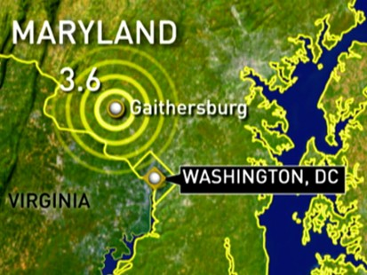 VIDEO: Quake in DC