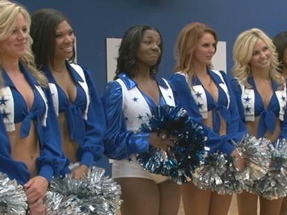"""VIDEO: """"GMA"""" fulfills Amanda Roberts dream of becoming a Dallas Cowboys cheerleader"""