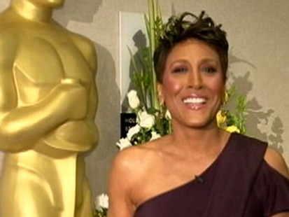 VIDEO: Robin Roberts Thanks Viewers for Voting on Her Oscar Dress