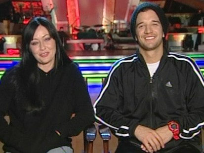 "VIDEO: TV star Shannon Doherty talks about her experience on ""DWTS."""