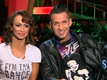 """VIDEO: Mike """"The Situation"""" Sorrentino and his partner talk about the """"DWTS"""" experience"""