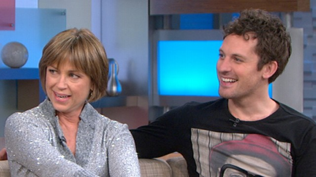 """VIDEO: Olympic gold medalist joins her """"Dancing With the Stars"""" partner for a surprise visit to """"GMA."""""""