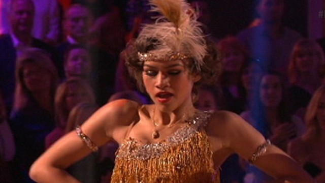"VIDEO: Sabrina Bryan discusses ""DWTS"" leader Zendayas ascension to first place."