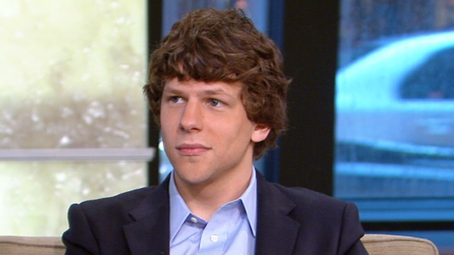 VIDEO: The actor talks about his new film about the origins of Facebook.